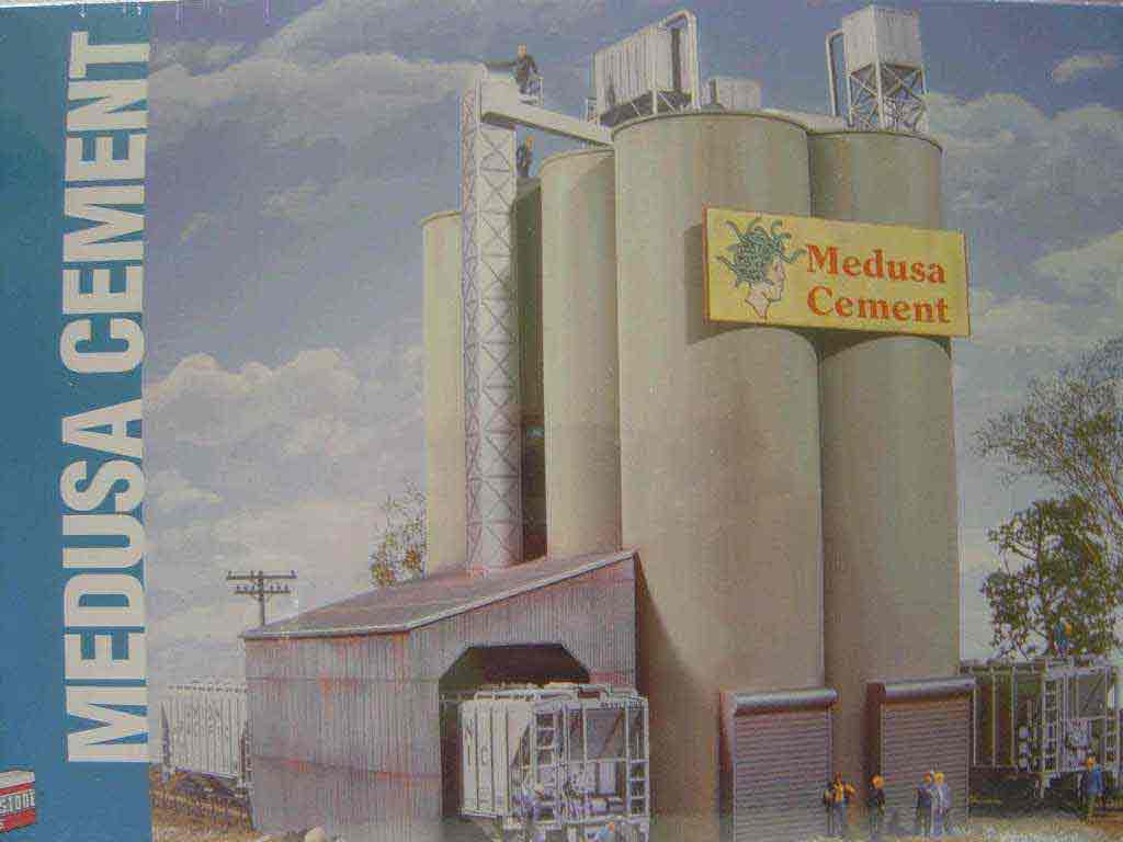 Walthers Valley Cement : Walthers cornerstone ho scale kit medusa cement company