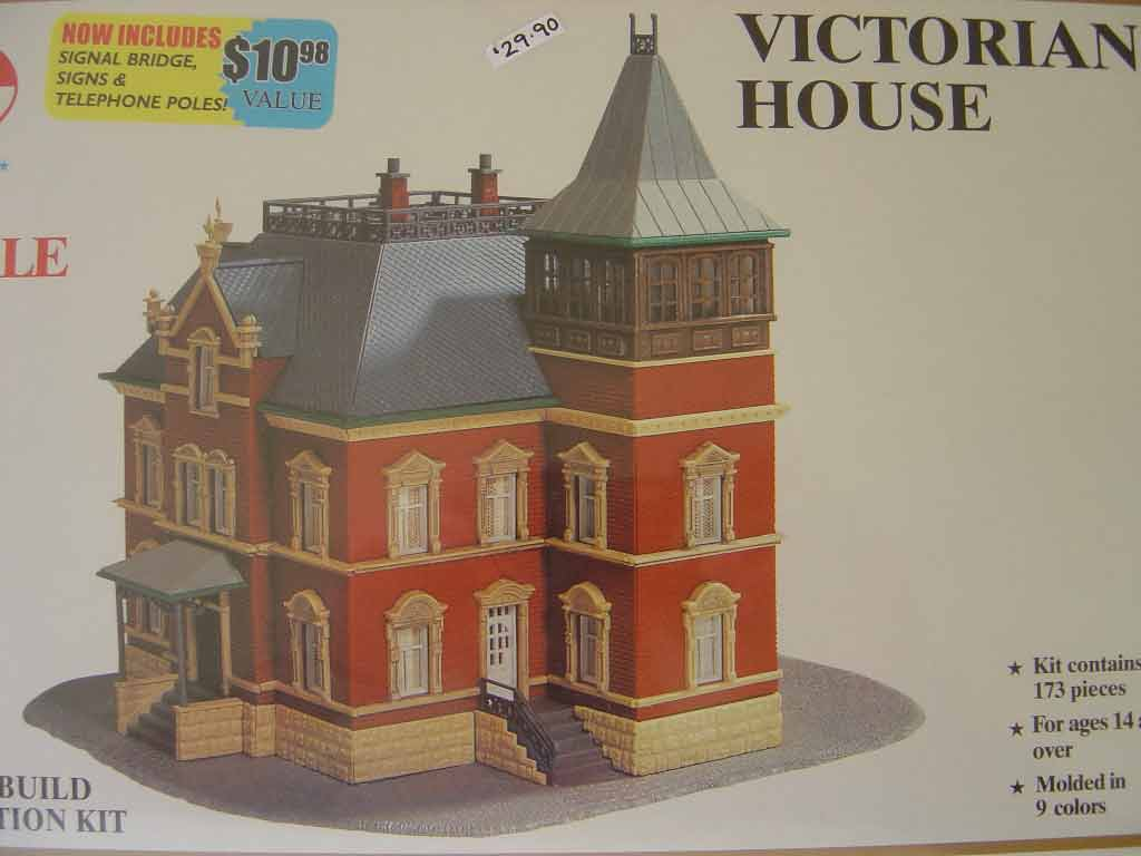 Model Power N Scale Kit Victorian House Hunter Valley