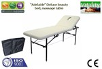 Beauty Bed (The Adelaide) Beauty Bed, Massage Table, height Adjustable includes carry bag