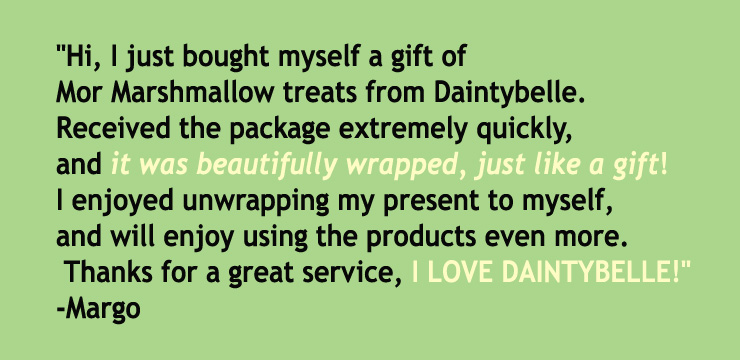 Testimonals from customer