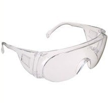 JSP Martcare - M9200 Visispec Safety Spectacle - Clear Lens - EN166.1.F - [JS-ASD020-121-300]