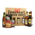 50th Birthday Beer Box