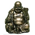 Lucky Bronze Sitting Buddha