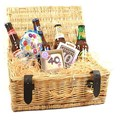 40th Birthday Beer Hamper