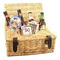 50th Birthday Beer Hamper