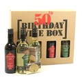 50th Birthday Wine Box