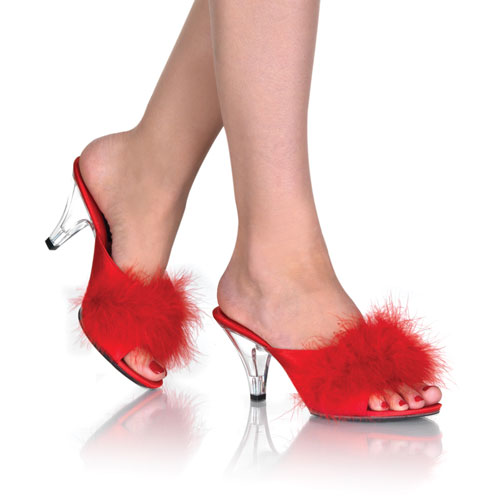 Marabou Slippers