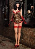 Leopard & Red Teddy