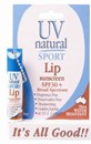 UV Natural Lip Sunscreen Sport SPF 30+