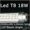 T8 18w LED Fluorescent Tube Replacement 240V 1.2m Globe