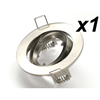 DOWNLIGHT FITTING HOLDER FOR SPOT LED LIGHT MR16 STAINLESS STEEL