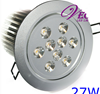 27W DIMMABLE LED COMPLETE SPOT LIGHT 240V KIT x 2
