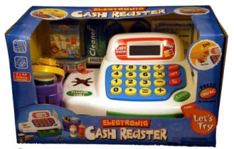 electronic-cash-register-blue