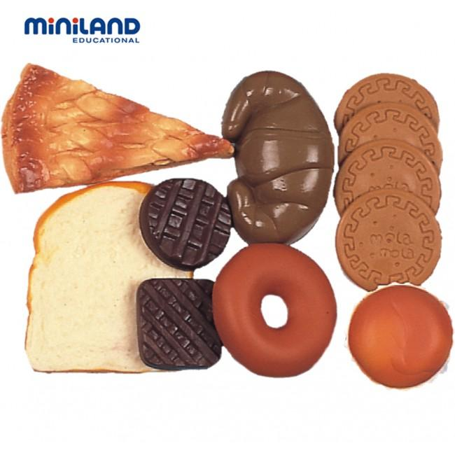 Miniland Educational Biscuit & Pastry Food Set