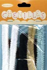chenille-sticks-assorted-animal-colours