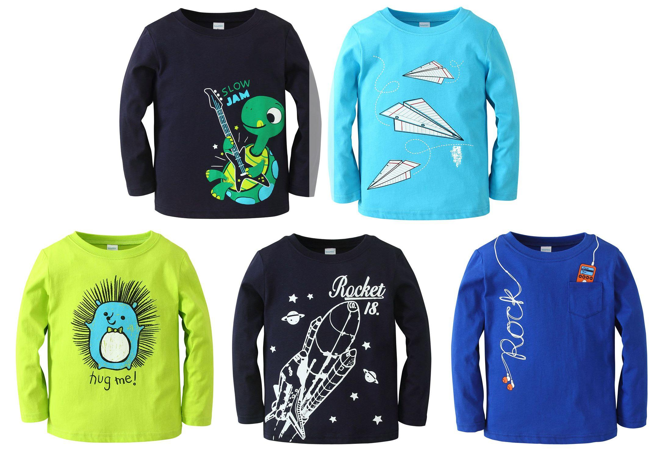 Boumini Boys Long Sleeved T-Shirts - SPECIAL