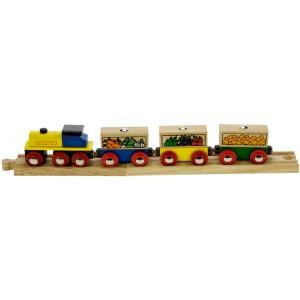 Bigjigs Fruit and Vegetable Train