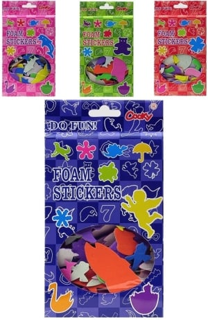 Foam Sticker Shapes Set of 3
