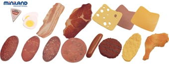 Miniland Educational Cold Meats Assortment 11pcs
