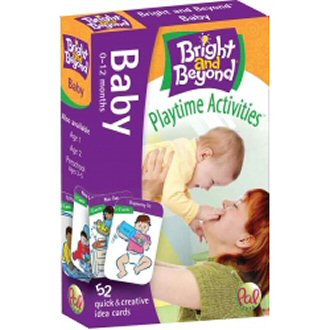 Bright and Beyond Activity Cards - Baby SALE!