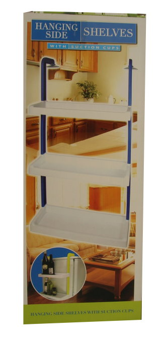 Hanging Side Shelves With Suction Cups