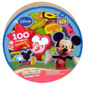 Mickey Mouse Clubhouse Stamper Kit - 100pc
