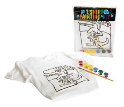 T-Shirt Painting Kit - Crocodile Ages 7-9 years