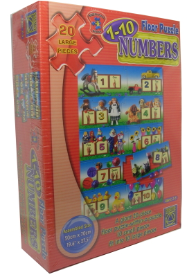 Floor Puzzle Numbers 1 - 10 by Creative Toys