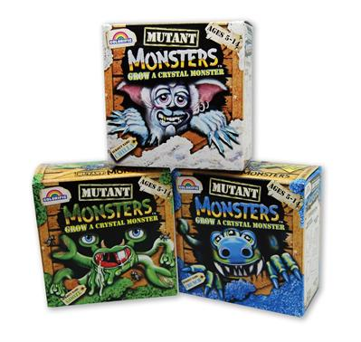 Mutant Monsters Crystal Growing Kit - Yellow Fang