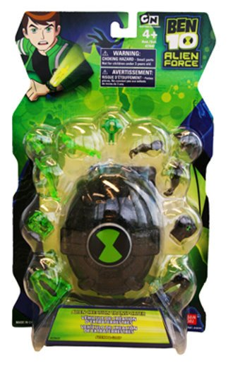 Ben 10 Action Figures  Alien X & Clear Goop