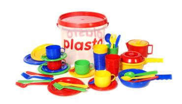 Plasto Kitchen Set in Bucket