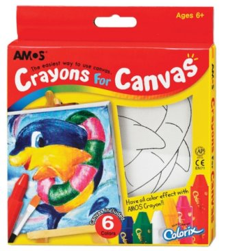 crayons-for-canvas-dolphin