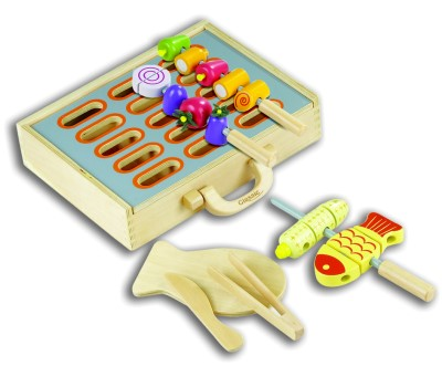 Classic Wooden Toys Pretend Play BBQ