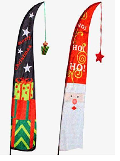 Christmas Outdoor Flag Banner 2.6m