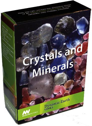 Crystals and Minerals Kit - Museum Victoria Dynamic Earth Series
