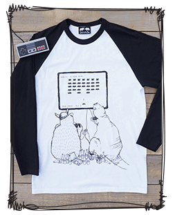 space invaders raglan
