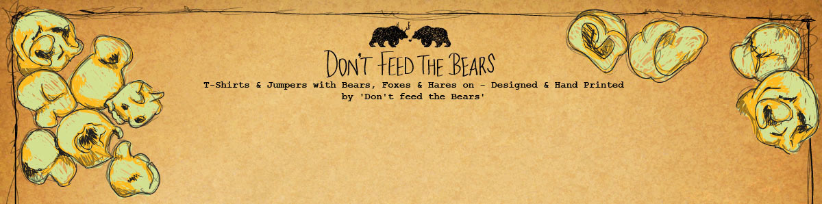 Don't feed the Bears header image  with popcorn