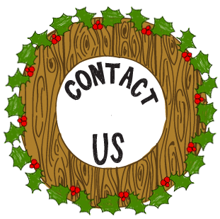 contact us wreath