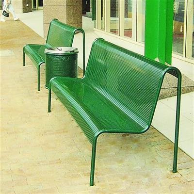 S103 Perforated Metal Seating