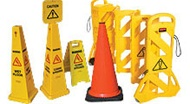 Safety Signs - Barriers