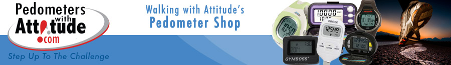 Welcome to Pedometers with Attitude.The walking resource shop for WalkingwithAttitude.com