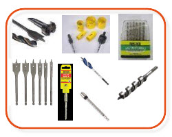 Drill bits, holesaw buts, augur bits, drill sets, spade bits, electrical supplies online Sparky Direct