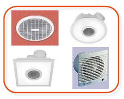 Clipsal airflow fans, Fantech fans, clipsal 200mm exhaust fans, huge range from electrical supplier and wholesaler online Sparky Direct