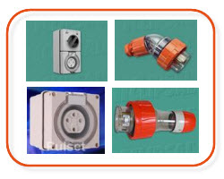 electrical wholesaler supplies of industrial outlets, IP66, inlets and outlets, Sparky Direct