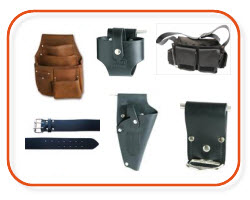 Leather tool belts, electrician tool belts, Electrical tool pouches - buy online and save at Sparky Direct