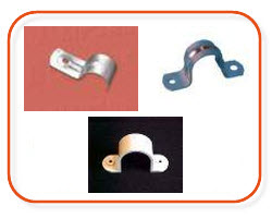 20mm saddles, metal saddles, half metal saddles, plastic seaddles, 25mm saddles- buy electrical supplies at Sparky Direct