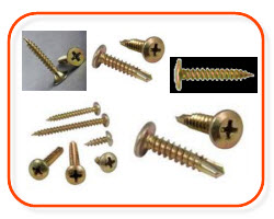 pan head , wafer screws, flat head, 7g screws - electrical supplies online at Sparky direct