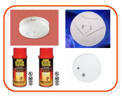 Smoke alarm, smoke alarm spray, 240v ionisation, photoelectric, 9 volts smoke alarms - buy online at Sparky Direct