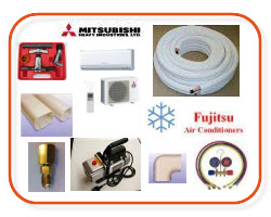 Airconditioning tools, air conditioning tools, vaccuum pumbs, pair coil, ducting, Buy online Sparky Direct