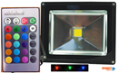 20W RGB Colour Changing LED FLOODLIGHT 240V VBLFL-833-4C